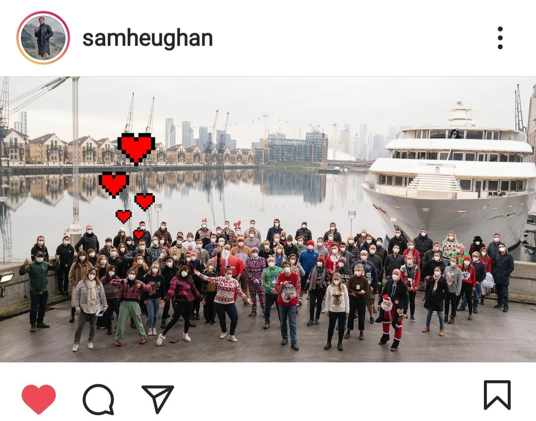 #Samday was Priyanka's last day on #textforyoumovie set! Sam's and Pri's IG posts seemed like an episode of looking for Waldo & i loved to play hide and seek with them! 🙈🤪 @SamHeughan  @priyankachopra  ICYMI Sam's post about his almost last day on set!