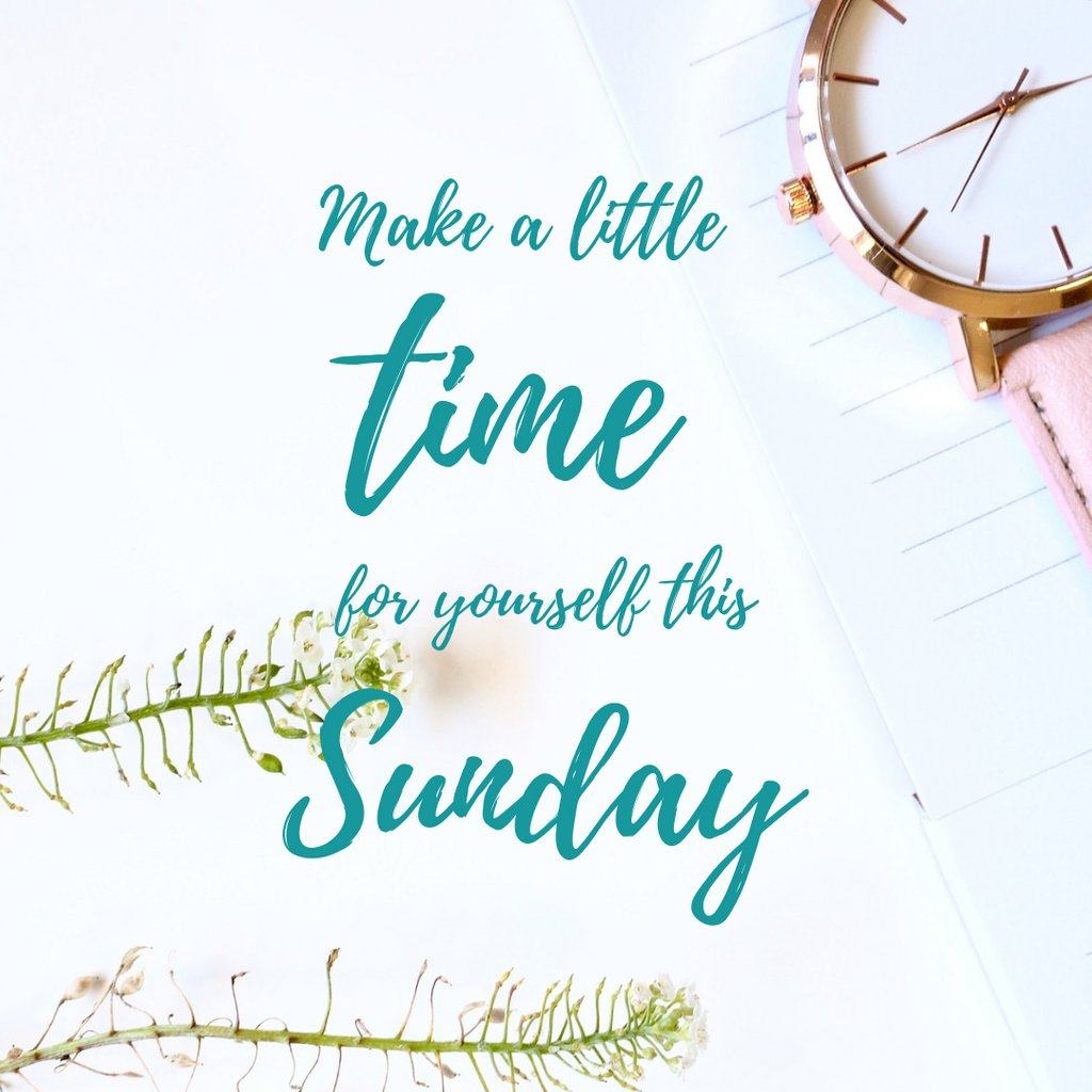 Sunday is the time to recharge before the start of a brand new week. Don't forget to #selfcare today. If you can't take the day off, carve out some time today just for yourself and do whatever soothes your soul. #sundayvibes