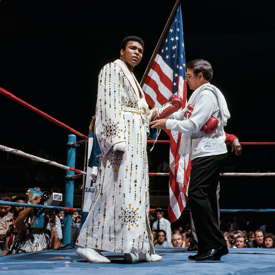 In honor of Muhammad Ali's birthday, tune in for a special Instagram Live today at 12pm EST as @LeiferNeil and @taschen reflect on the life and career of the GOAT.
