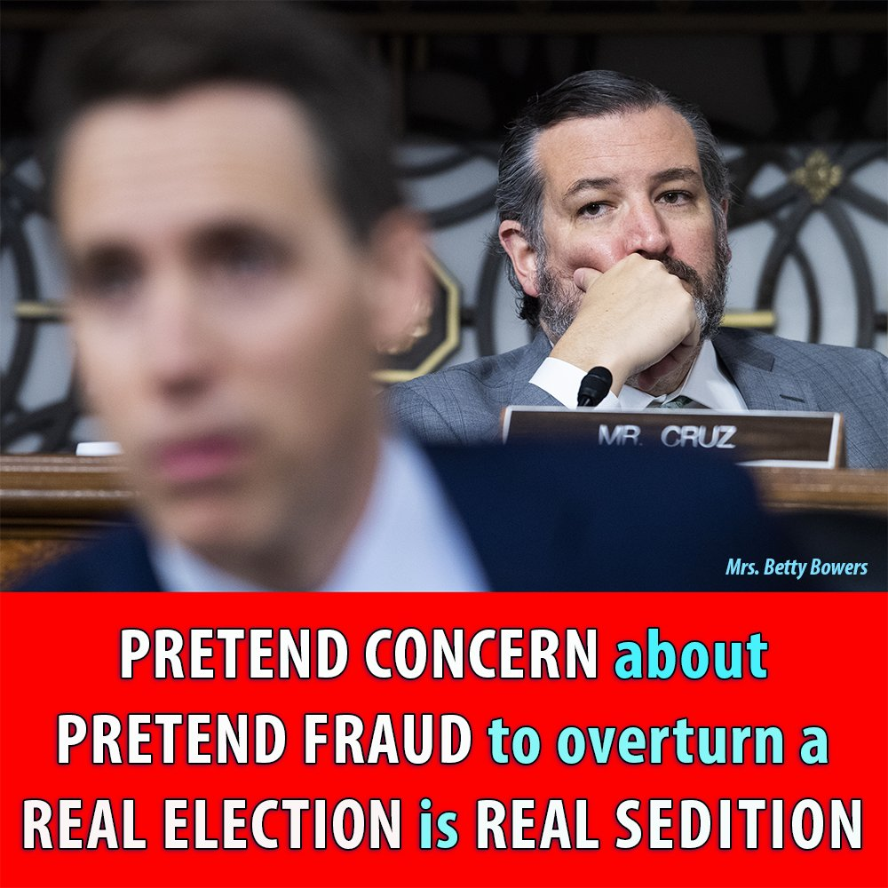 Today would be a good day for @tedcruz and @HawleyMO to be expelled from the U.S. Senate.