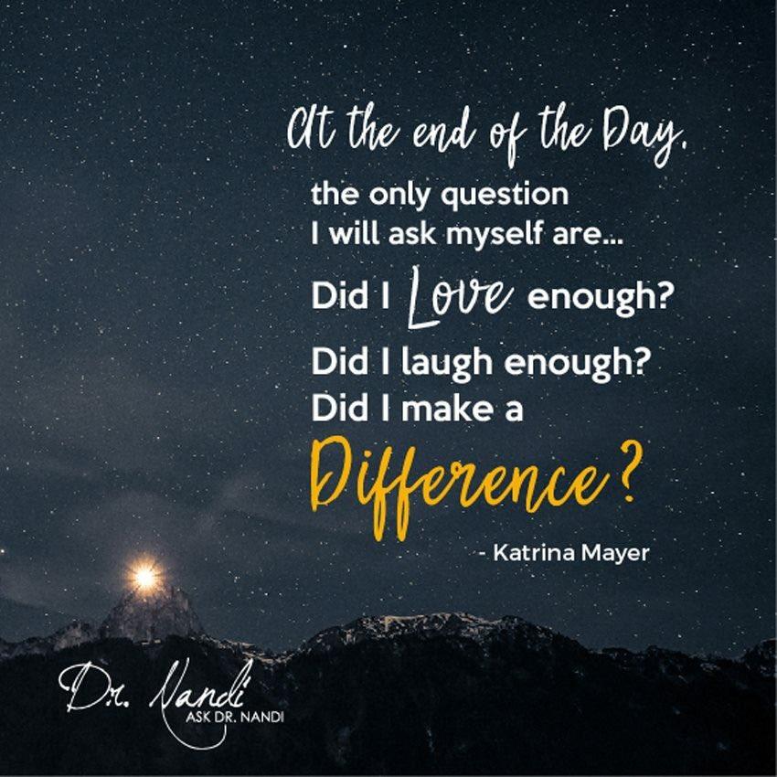 Make a difference.... #ThinkBigSundayWithMarsha #difference #quote #SundayMorning