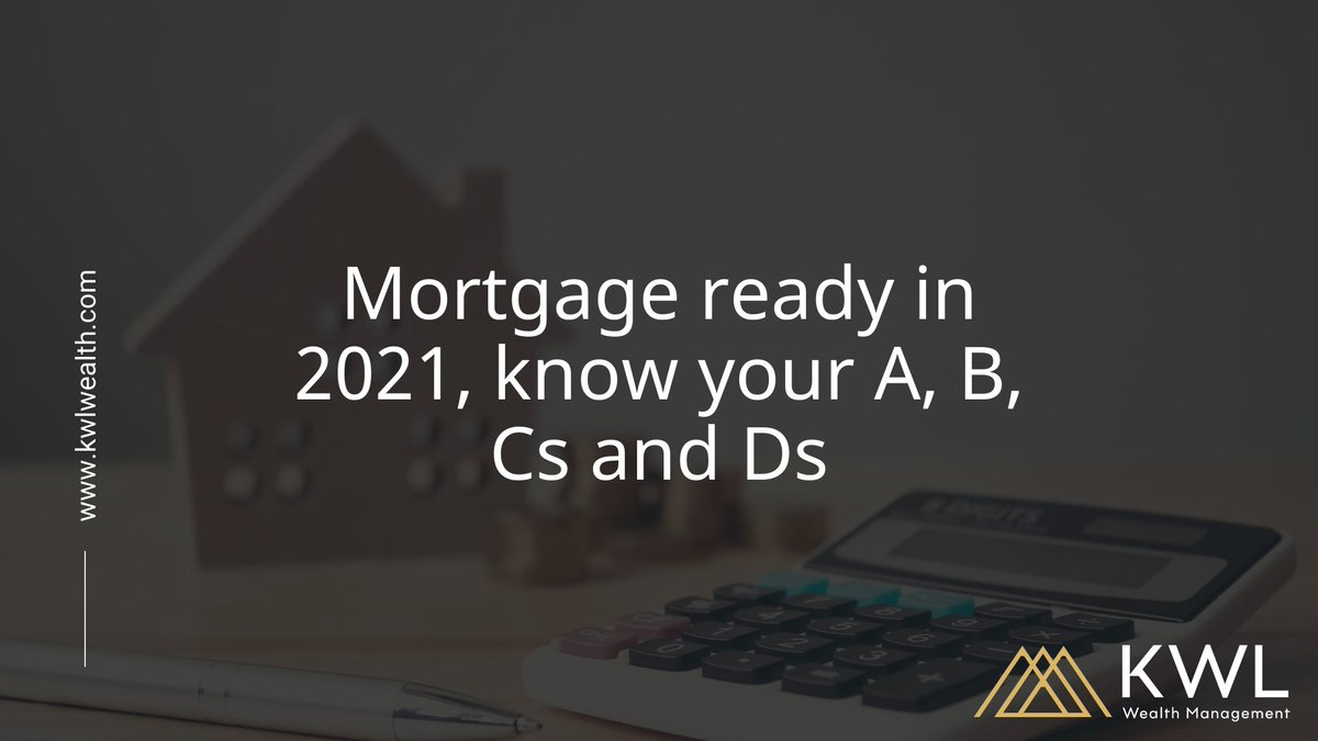 Getting mortgage-ready for 2021 could be as easy as learning your ABC(D)s!   We take you through our top tips from Advice, to Budgeting, improving your Credit Score and saving for a Deposit. Read more here -  #KWL #WealthManagement #Somerset #Mortgages