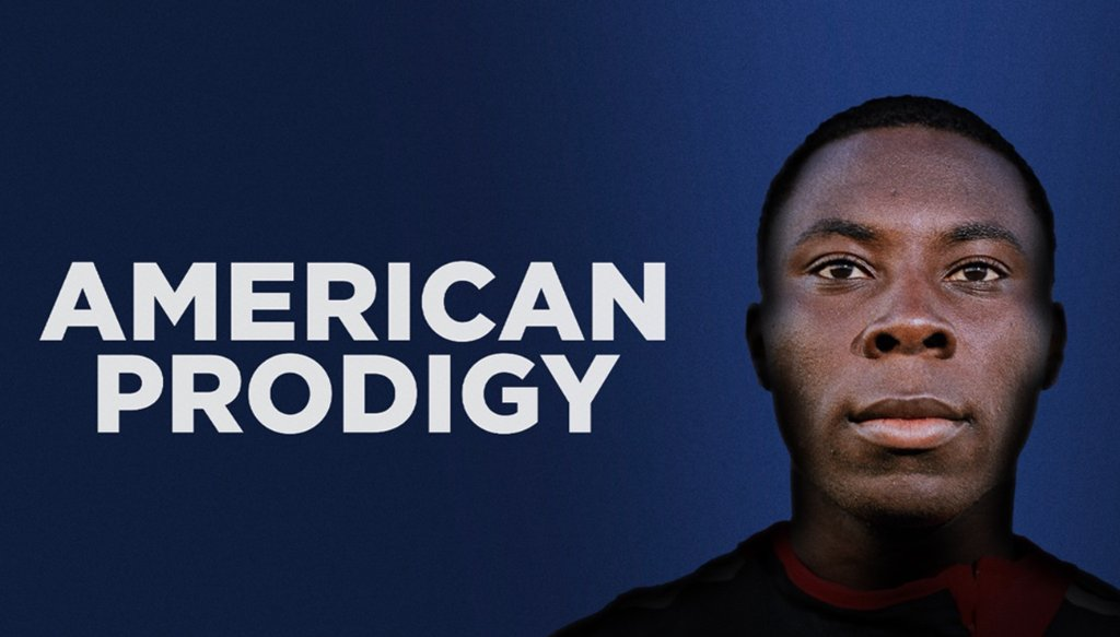 This is a story of talent, money, fame, and a cultural obsession with young athletic genius. Freddy Adu became a pro athlete at 14 when he joined MLS. On American Prodigy, @GrantWahl looks at the impossible expectations placed on the teen.
