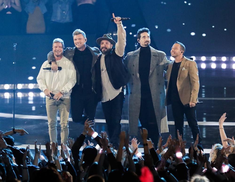 Los Backstreet Boys pasan por una crisis y el culpable es Donald Trump.