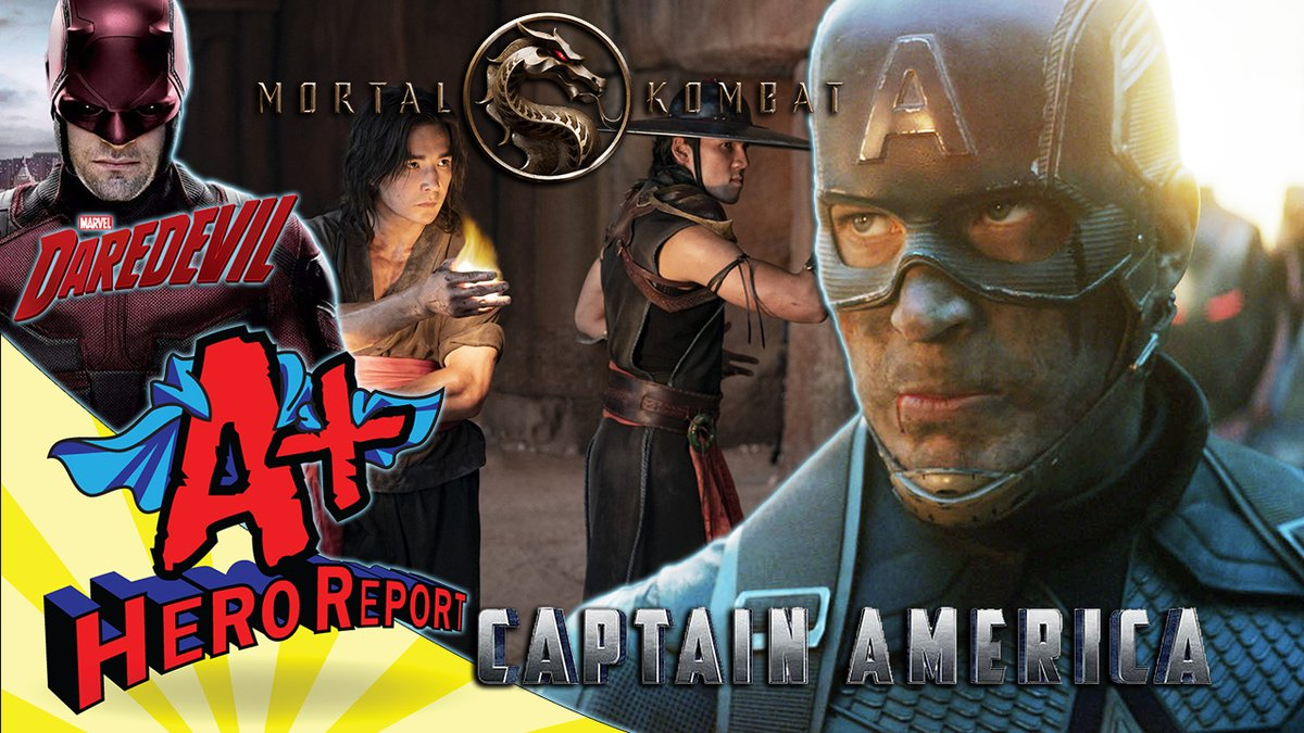 Come joins us LIVE @ 11am CST! #Marvel #DC  Watch Here:👇 🔥🔥  Submit Your Live Viewer Questions: aplusopinions@gmail.com  Chris Evans Set to Return as #CaptainAmerica in the #MCU! | #MortalKombat FIRST LOOK! | #Deadpool3 + #MoonKnight #SecretInvasion!