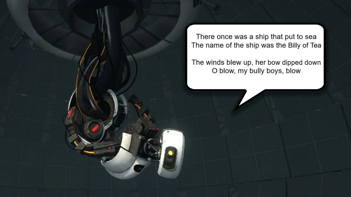Replying to @Kotaku: This Website Lets You Make GLaDOS Say Whatever You Want