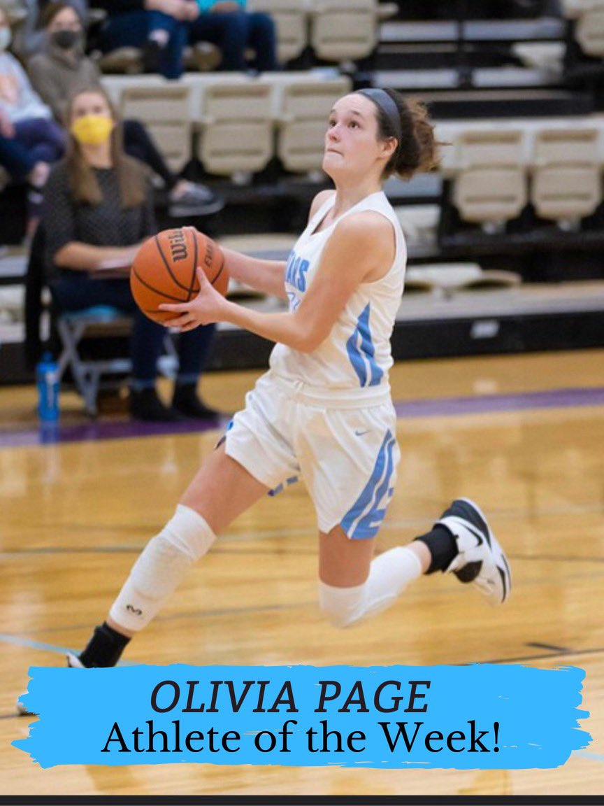 Congratulations to Olivia Page on winning Athlete of the Week in the @memphispreps poll! #allin 🌟🏀