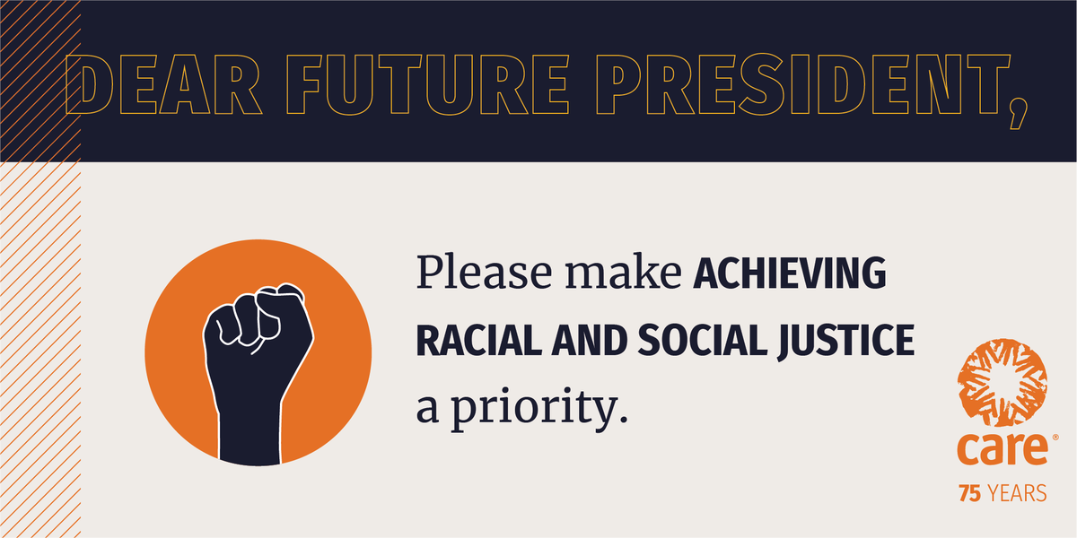 Systemic inequalities and injustice have persisted for too long. Together we can change that. Raise your voice with us and tell U.S. President-elect Biden the time to end racial and social injustice is NOW:  #Inauguration2021