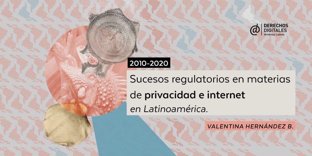 """¡Hey! Te invitamos a descargar """"Sucesos regulatorios en materias de privacidad e internet en Latinoamérica"""", un análisis de cómo han evolucionado la jurisprudencia y los desafíos de la región en cuando a privacidad, protección y vulneración de datos   ⬇️"""