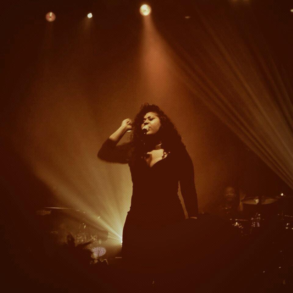 I've always loved this picture of @jsullivanmusic I took from her show in London back in 2014