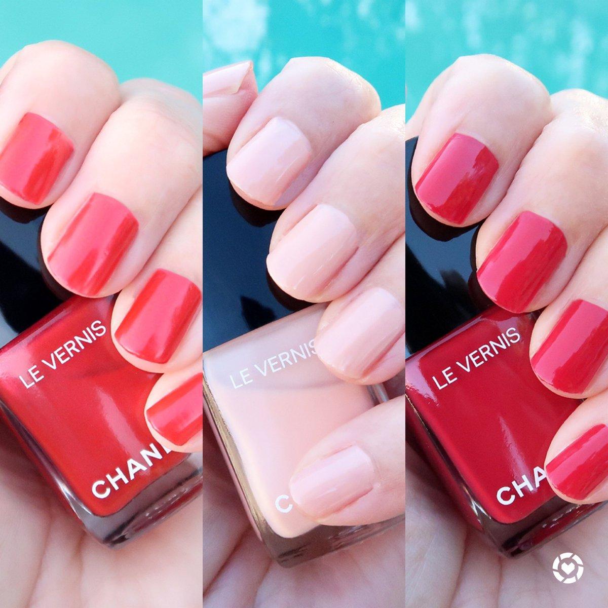 Chanel spring 2021 nail polish on the blog ->  #nailpolish #chanel