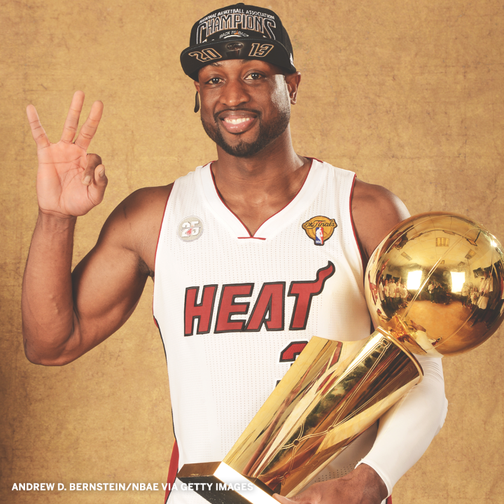 Dwyane Wade turns 39 today! His career was legendary:  ⚡️ 3x NBA Champ ⚡️ 8x All-NBA ⚡️ 3x All-Defense ⚡️ 13x All-Star