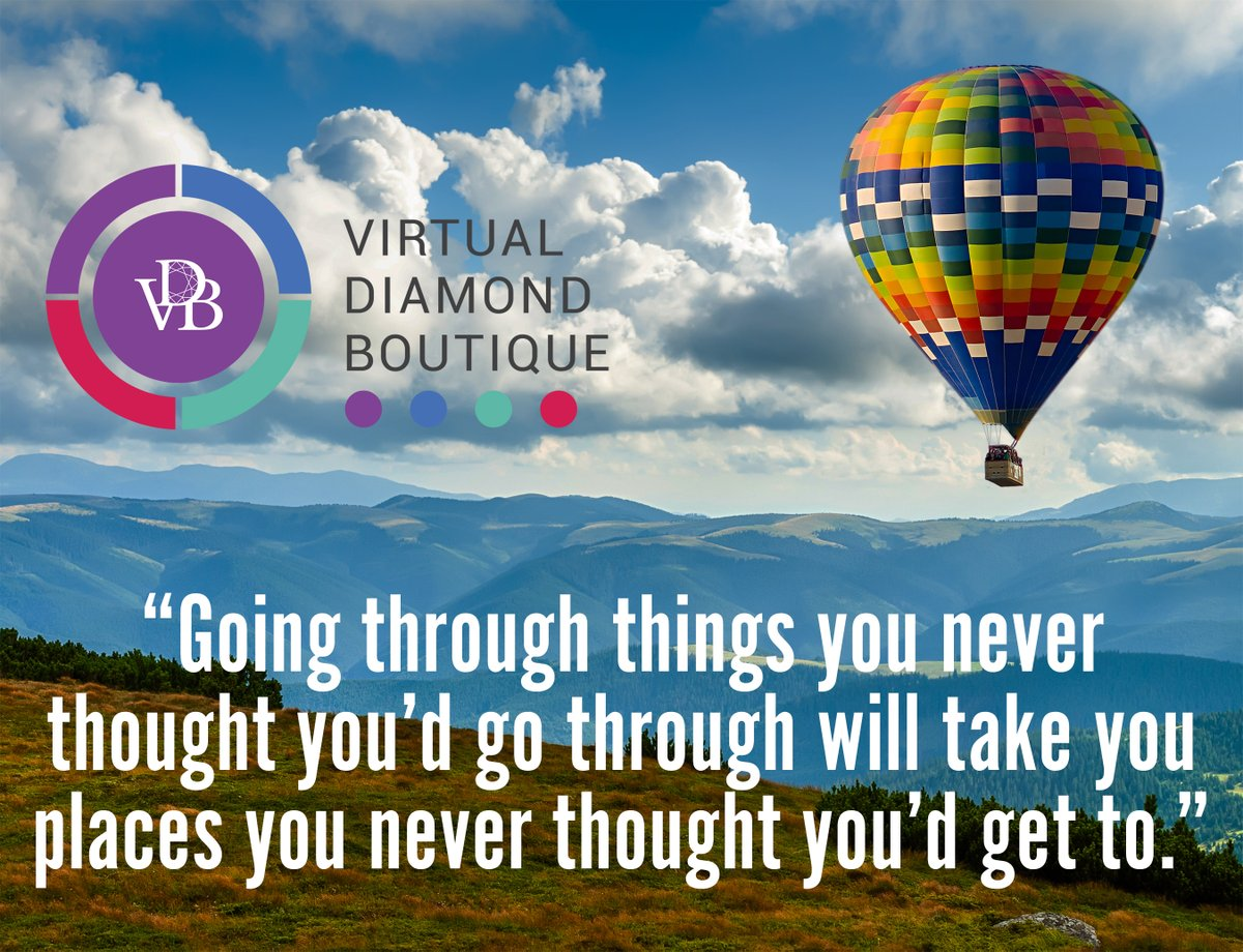 """""""Going through things you never thought you'd go through will take you places you never thought you'd get to.""""  #finejewelry #diamonds #carat #clarity #color #cut #jewelrybusiness #jewelrylovers #business #solutions #luxuryjewelry #jewelryindustry #virtualdiamondboutique #vdb"""