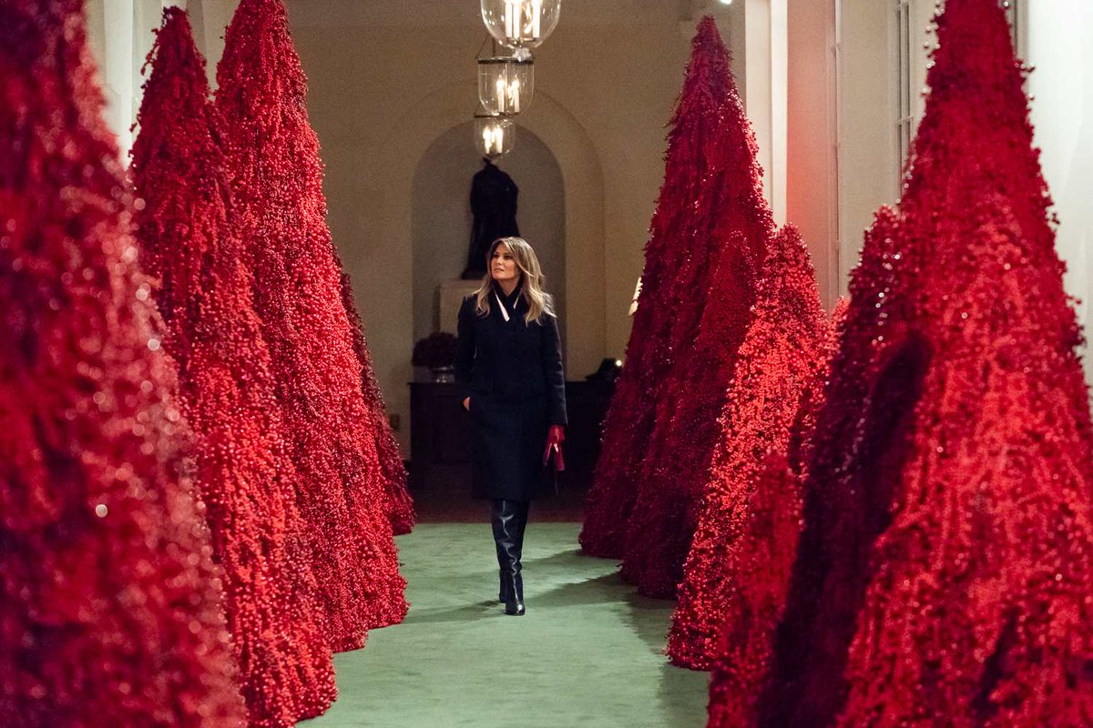 "#DontTrustPeopleWho  who decorate with Satanic Christmas trees  (aka ""I hate fooking Christmas."")  #TrumpSeriesFinale"