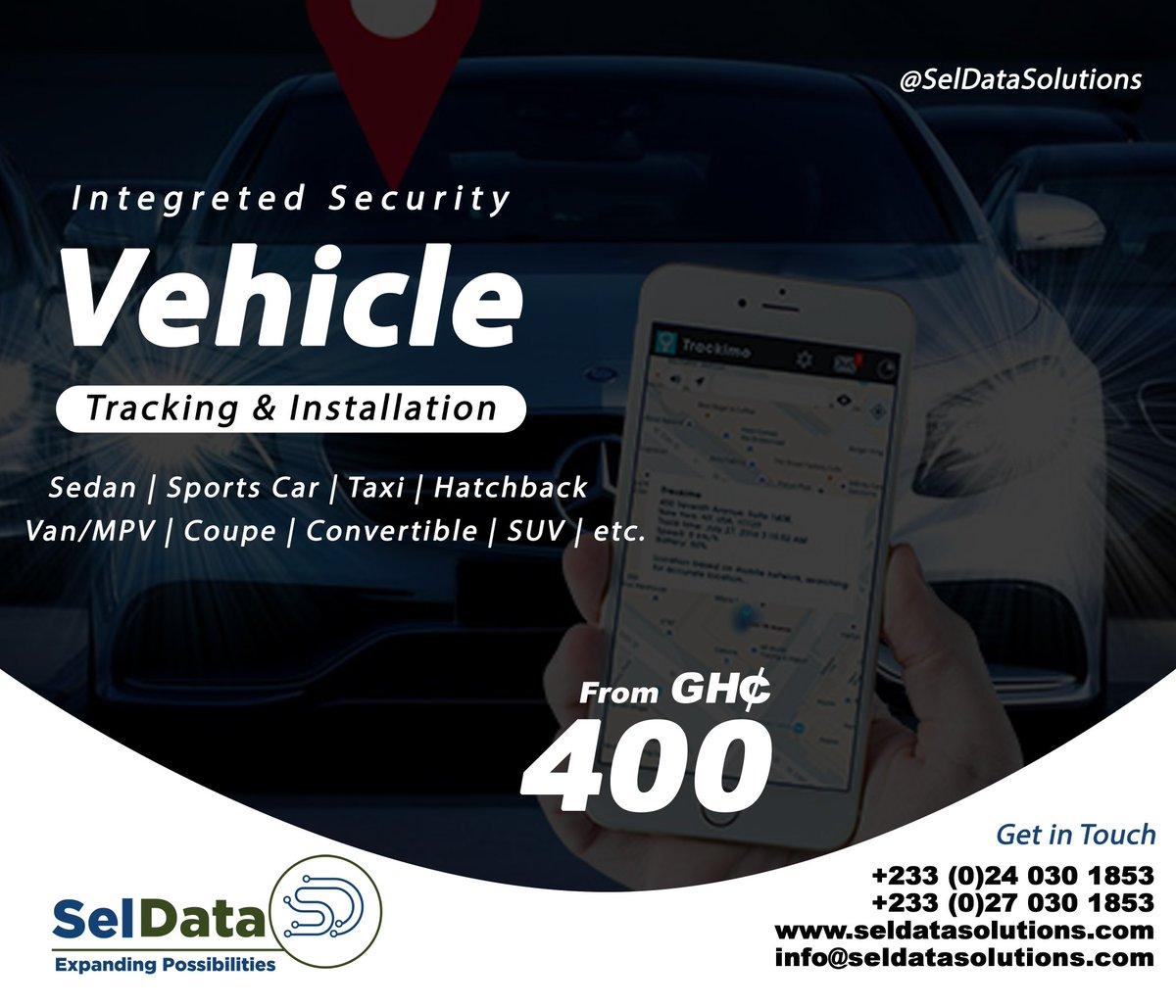For all your vehicle and motorcycle #GPS tracking #solutions. ✅Track your #car and #motorcycle 24/7. ✅#Disable #engine in case of theft. ✅#Manage #fleet of #vehicles for profitability. ✅Get alerts about your car right on your phone #alert