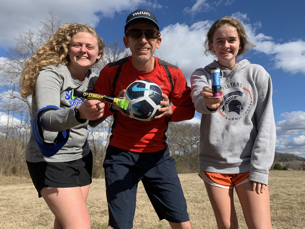 Used @nuunhydration and @honeystinger before kicking the ball with the girls. Followed by a 10k. #nuunlife #hshive #honeystingerambassador #teamultra #teamultraambassador