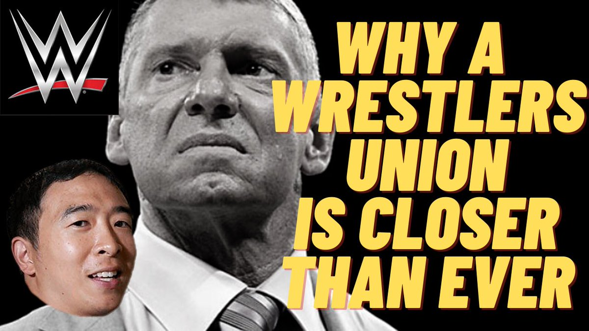 Why A Wrestlers Union In WWE Is Closer Than Ever...  via @YouTube #WWE #WWEThunderDome #WWENXT #AEW #ImpactWrestling #DustyClassic