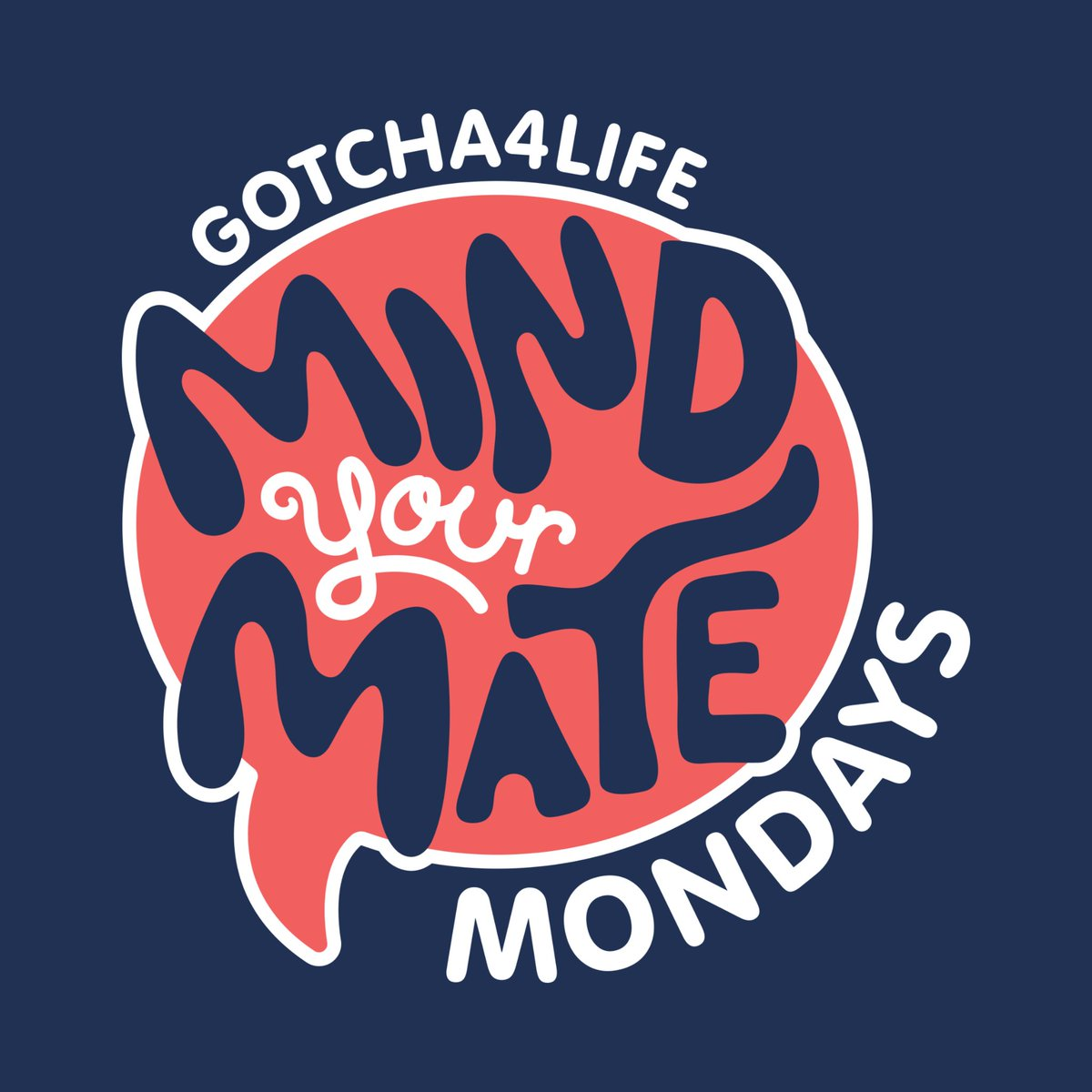 Best way to beat the Monday Blues? Make it the day you check in with your #Gotcha4Life Mate! #MindYourMateMondays are all about staying consistent and taking the time to touch base with your Mate.  Learn more about #MindYourMate and take the pledge here: