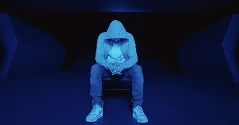 'I don't wanna be alone in the darkness'  One year ago Eminem released this masterpiece urging end to gun violence. #MTBMB