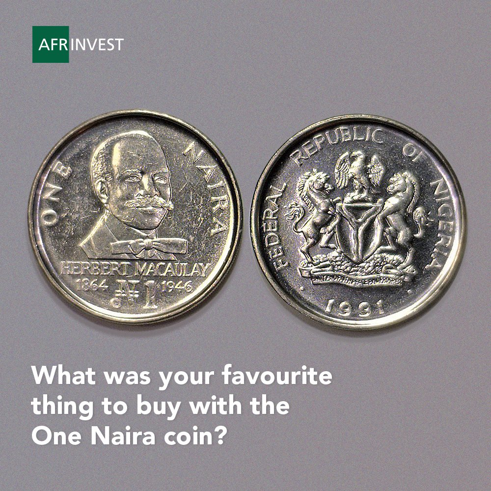What was your favourite thing to buy with the One Naira coin? 💭  #sundayvibes