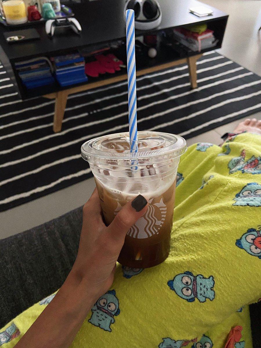 Ice Ice Baby! 〰️ ✨💥❄️☕️❄️💥✨ #Coffee #sundayvibes #pjs
