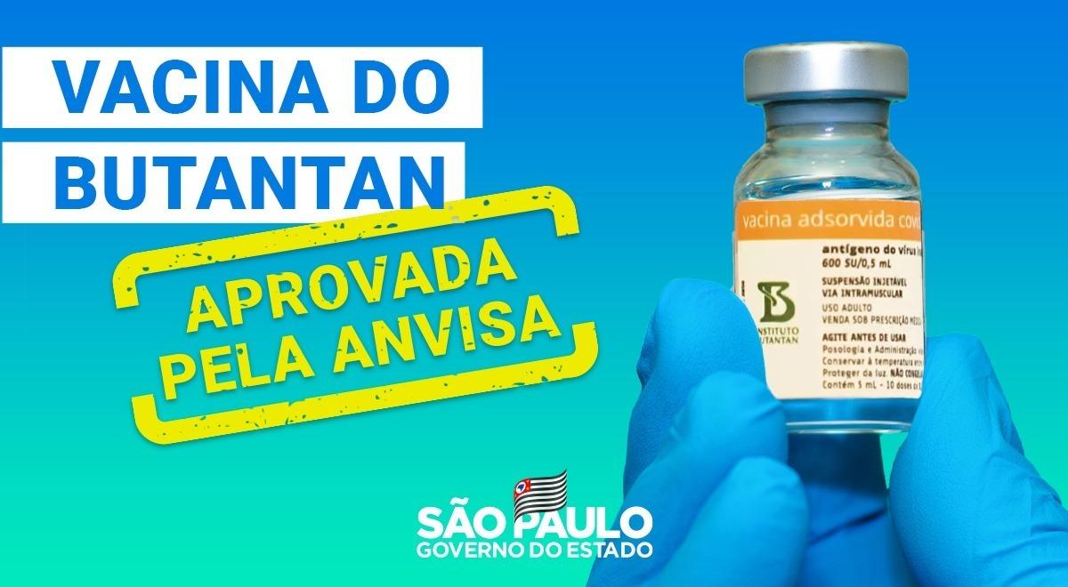 ⚠ URGENTE: Anvisa aprova uso emergencial da vacina do @butantanoficial.   São Paulo já conta com mais de 10,8 milhões de doses do imunizante prontas para serem utilizadas.