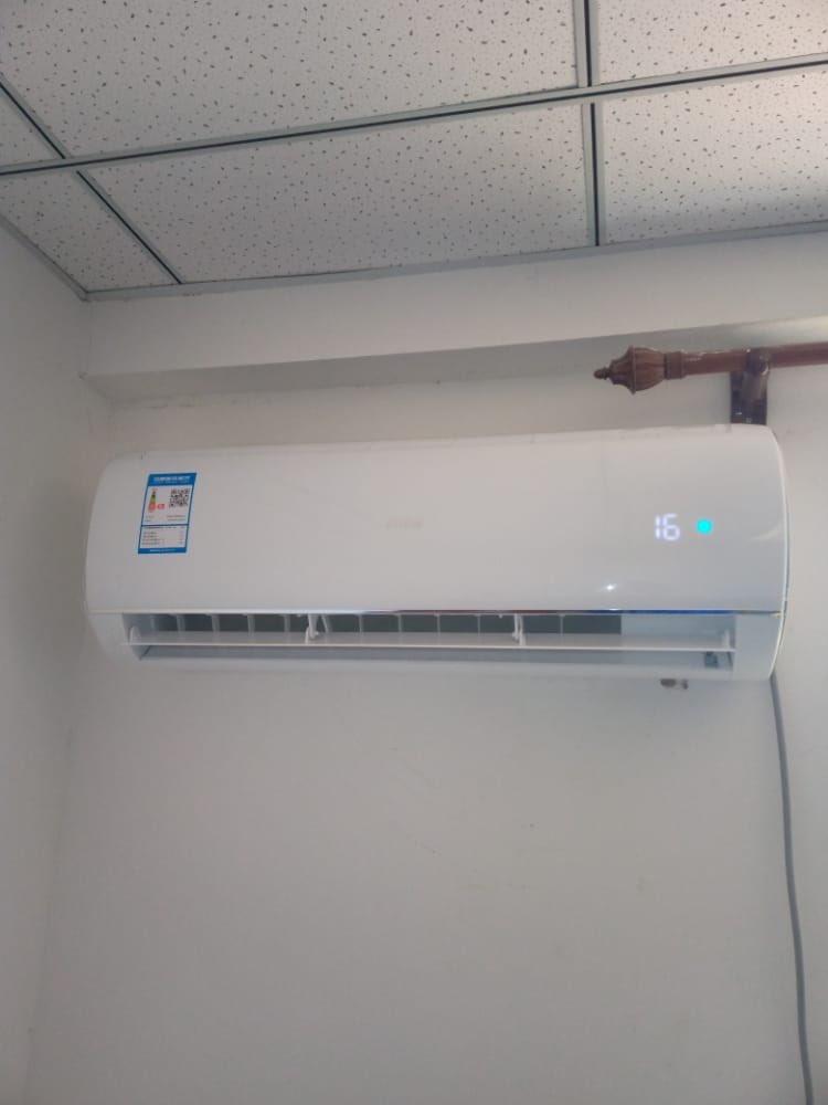 An installed Air conditioner   @morisoneng @RAInternationaI @ndtv  #MUFC #iPhone #Cable  0725125340