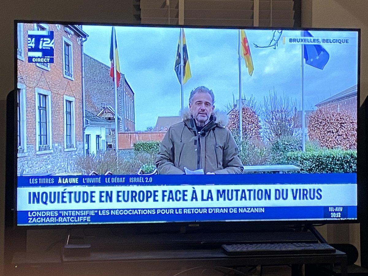 #Belgique #Bruxelles La Belgique touchée par un #cluster de #Covid à mutation britannique. Plus de 120 habitants d'une commune et 2/3 des résidants d'une même maison de retraite sont positifs. Le mutant se répand. Inquiétude en Europe. #i24news @i24NEWS_FR