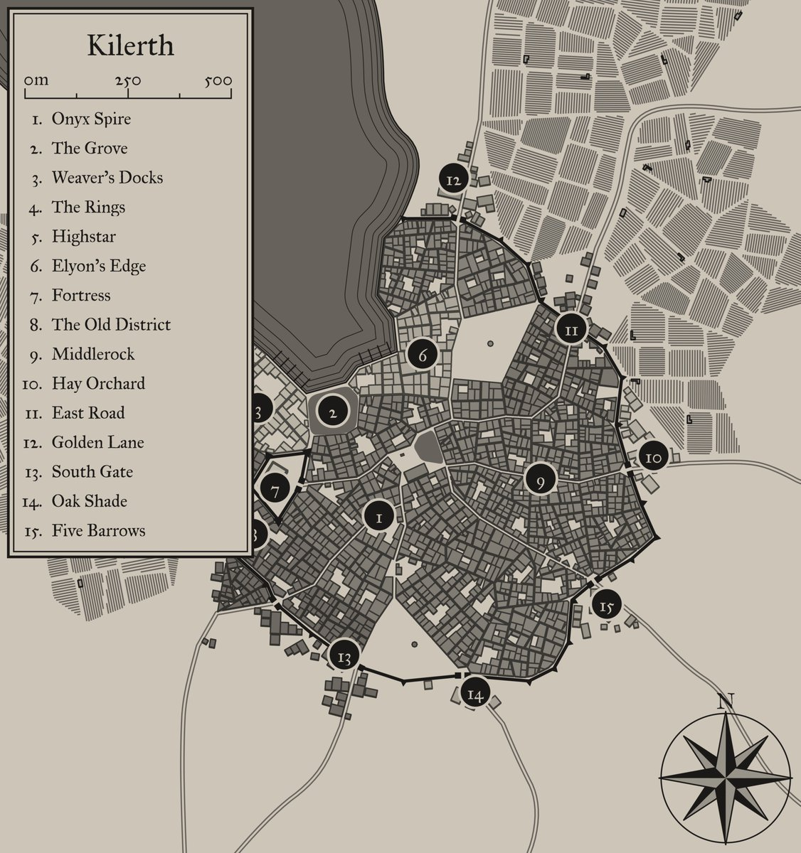 #ama with our DM and eternal torturer @_RKDnc as he works on Season 3 of the #podcast! Check out the map for the city of Kilerth, where the next season takes place! https://t.co/GVJGI24NmZ