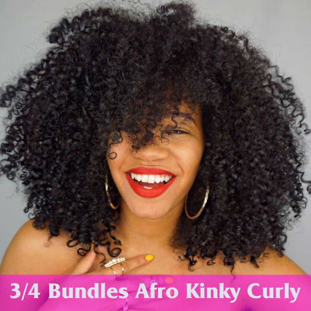 #hair #specialists #wigs #extensions #eyelashes #lashes #goodies #straight #remy #curly #love #salon #hairaccessories #hairproducts #lovehair #bodypositive Beauty Queen Remy Double Weft Curly Afro Kinky 100% Human Hair Extensions Bundle