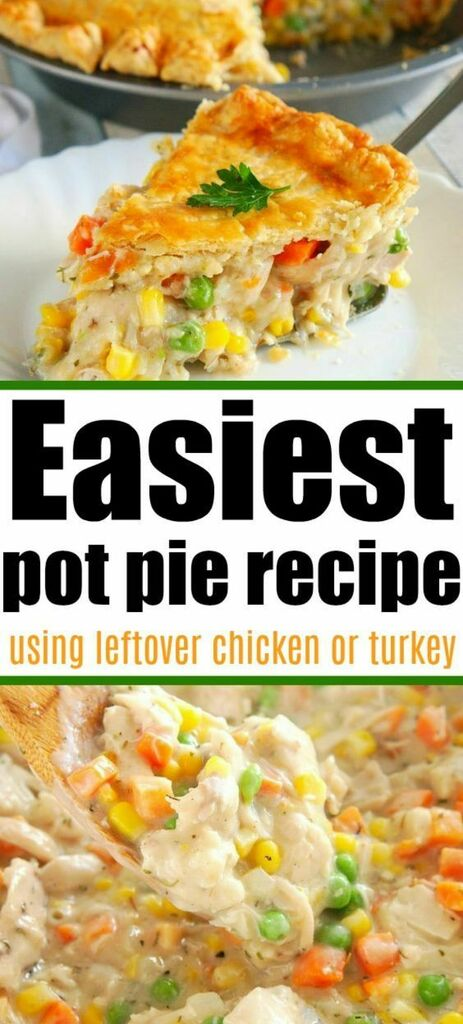 https://t.co/96AmKPkW0Z Easy Chicken Pot Pie Easy chicken pot pie recipe using leftover chicken or leftover turkey. Use rotisserie chicken even with frozen vegetables for a simple dinner. #leftoverchicken #leftoverturkey #chickenpotpie… https://t.co/eJxCysiPQp