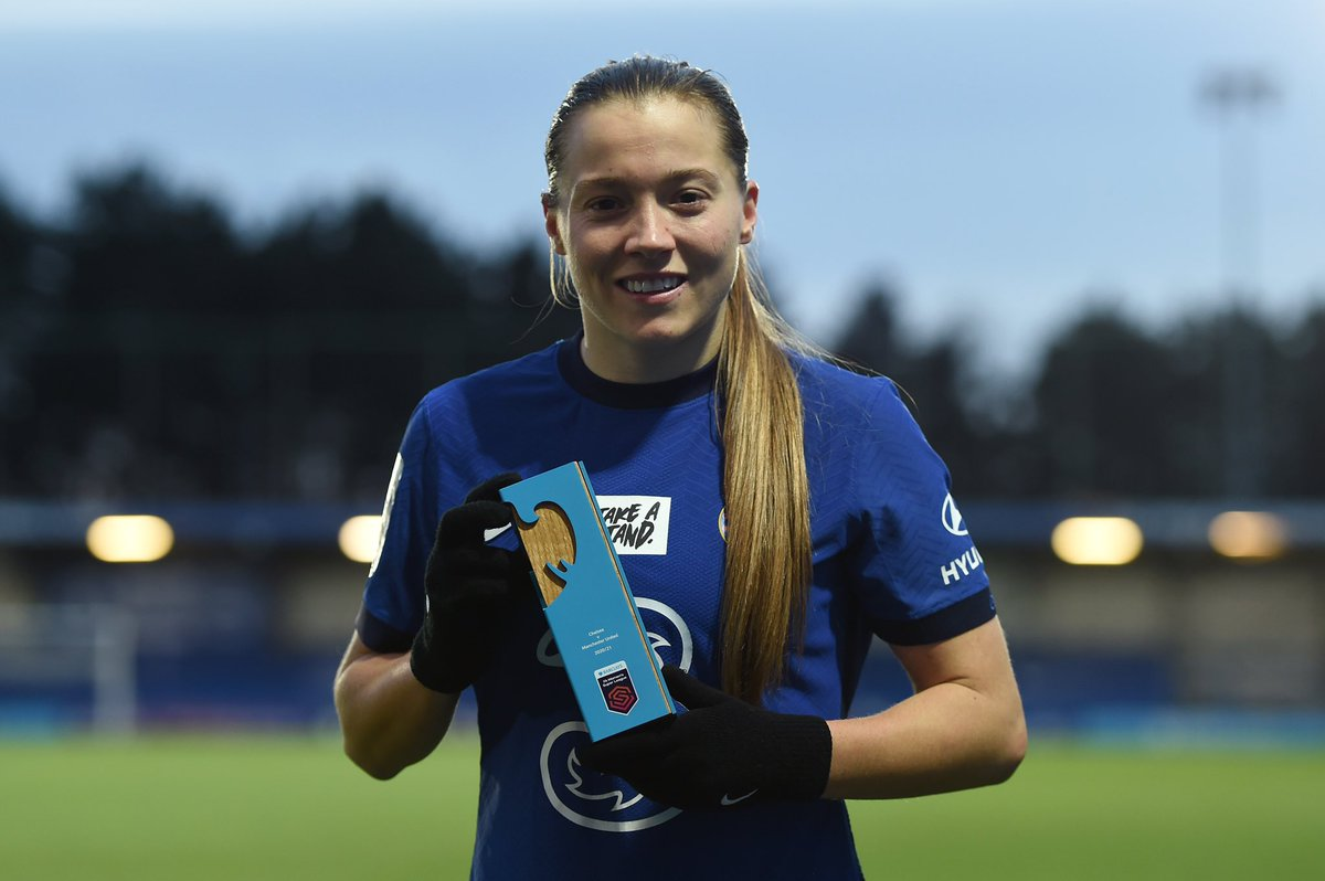 Replying to @ChelseaFCW: Today's @BarclaysFAWSL POTM! ⭐️