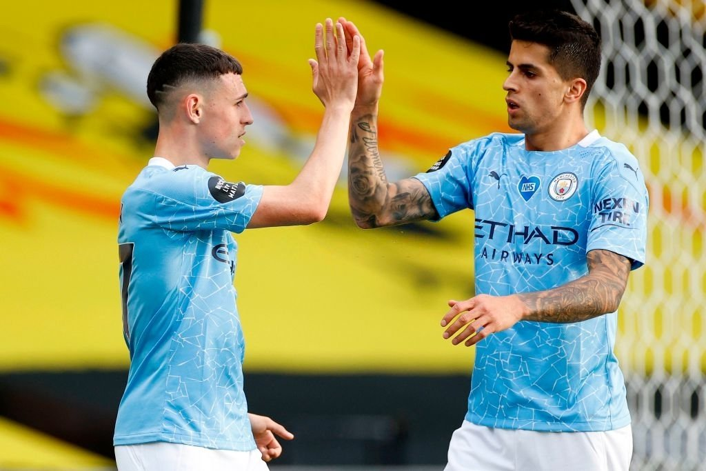 Two inform players getting well-deserved rests.  #MCFC | #MCIBHA | #ManCity