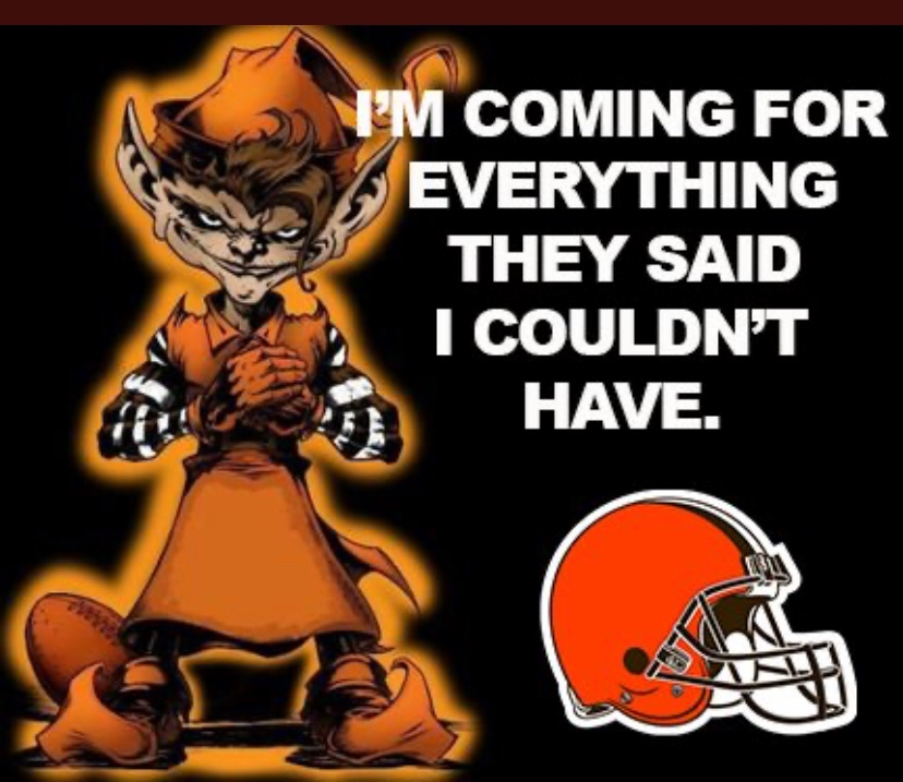 CLEVELAND IS COMING KANSAS CITY AND WE ARE TAKING  EVERYTHING !!!! LFG!!!! #Browns  #WeWantMore