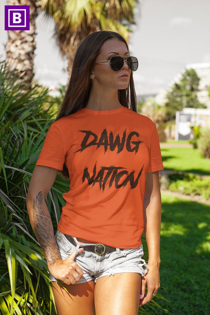 Excited to share this item from my #etsy shop: Cleveland Browns football shirt women, NFL fan gear, Dawg Pound shirt, Dawg Nation, Beware of the Dawgs, NFL football fans, Cleveland Ohio  #clevelandbrowns #wewantmore #browns