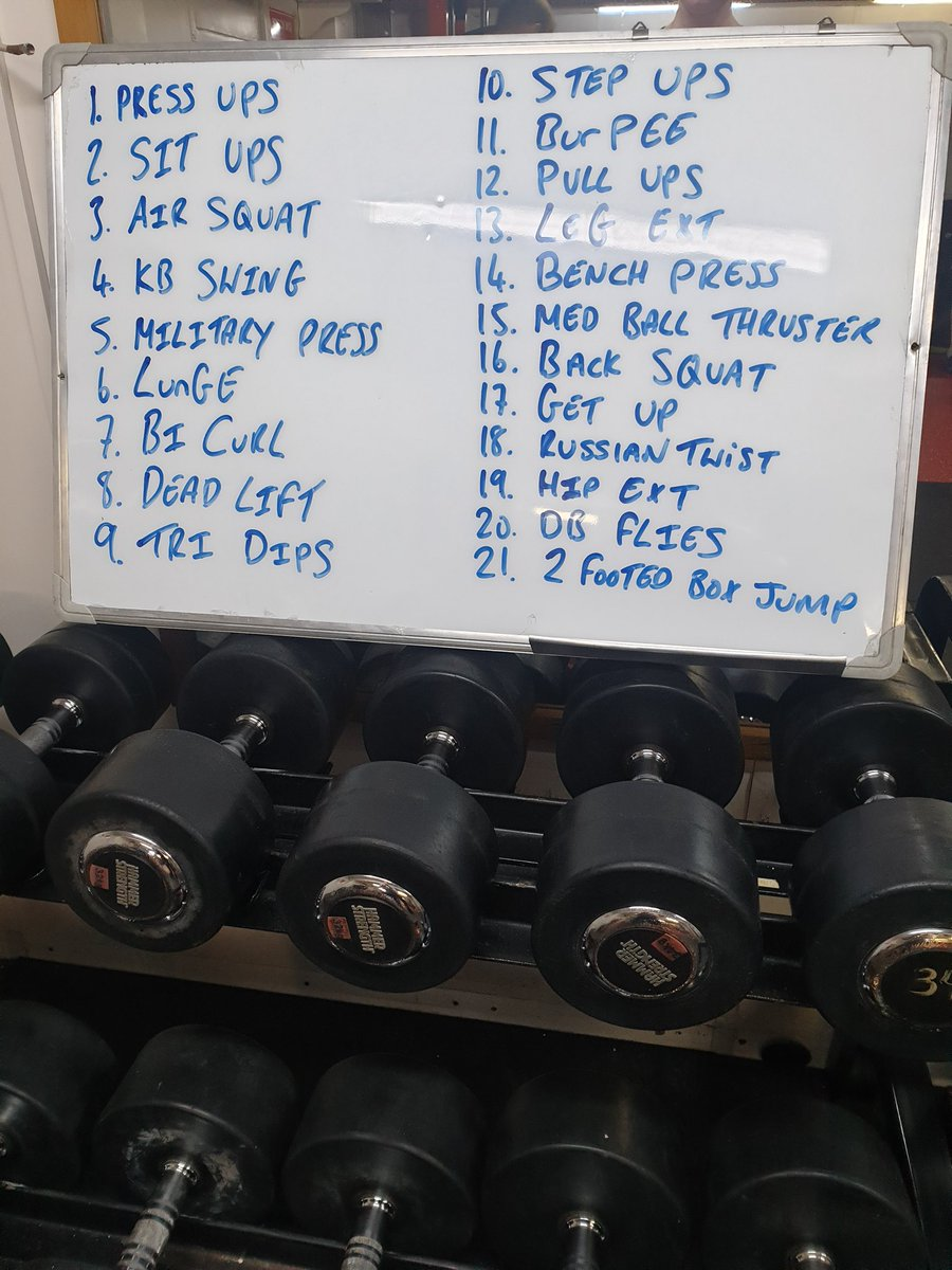 We're still working hard through lockdown but we might need a bit of #mondaymotivation to get through this lot! Feel free to steal our circuits workout! #workout #fitness