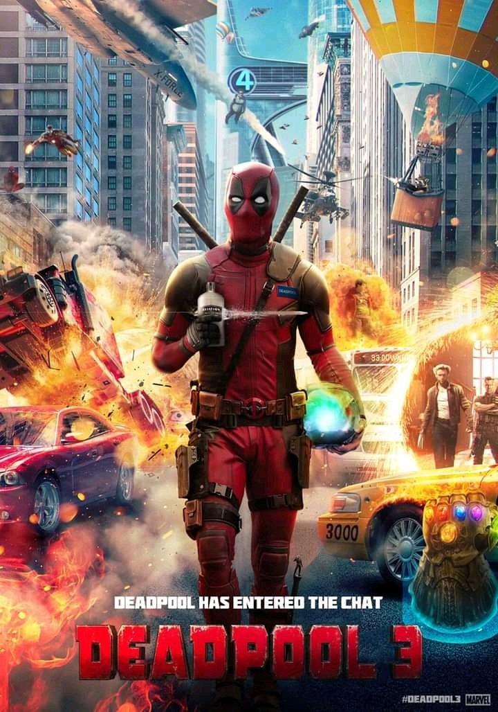 ⚔️#Deadpool3 formará parte del UCM y tendrá calificación R según Marvel Studios. 🎀  🔴 ¿Cuando la podremos ver? 🔴  Pues seguramente nos toque esperar, pero bueno, ahí queda eso 🤪