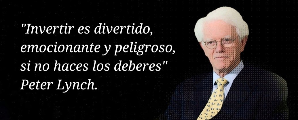 Peter Lynch, en su libro Batiendo a Wall Street. #quotes #peterlynch #wallstreet https://t.co/kDKIYWsHtm