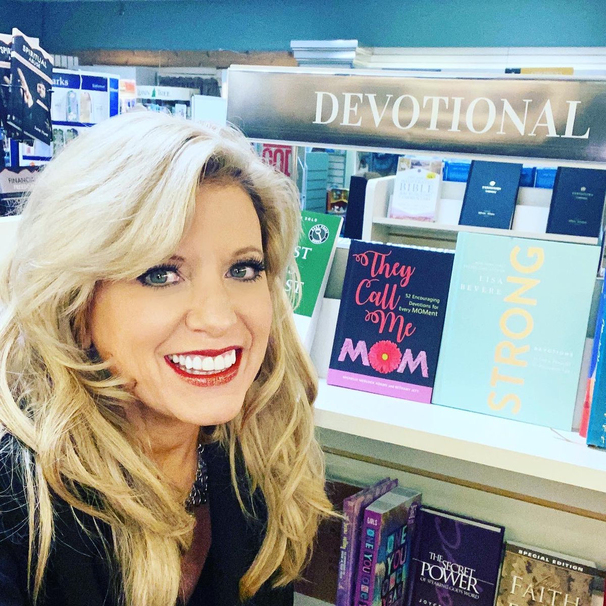 "Fun to see my book, ""They Call Me Mom"" (coauthored with Bethany Jett) in a Southern IN bookstore. #mom #books #booksinthewild  #momtribe @KregelBooks https://t.co/BGnTAip6EB"