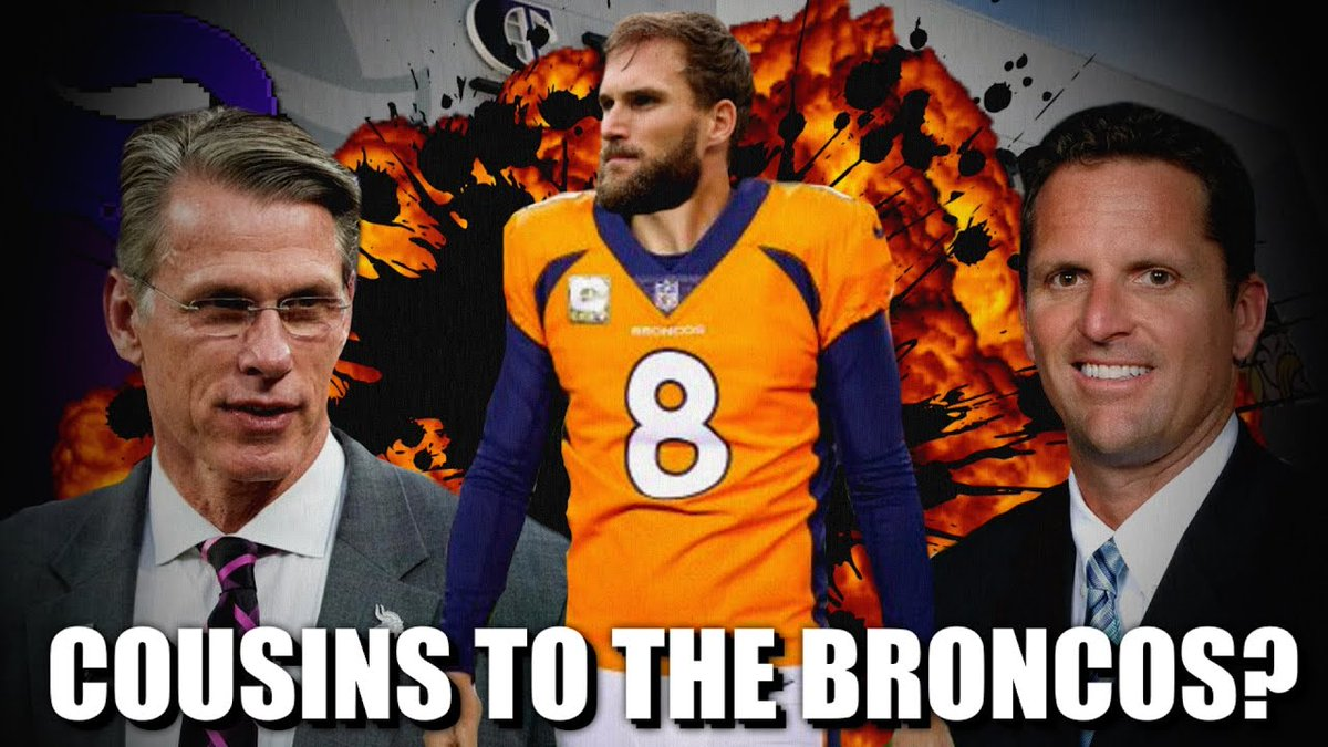 #Kirk #Cousins to the #Broncos? ...      #BroncosRumors #DenverBroncos #DeshaunWatson #GeorgePatonBroncos #GeorgePatonGm #GeorgePatonMinnesotaVikings #GeorgePatonVikings #GolfSkills #GolfStrategies #GolfTactics #Here39s #JohnElway #KirkCousins