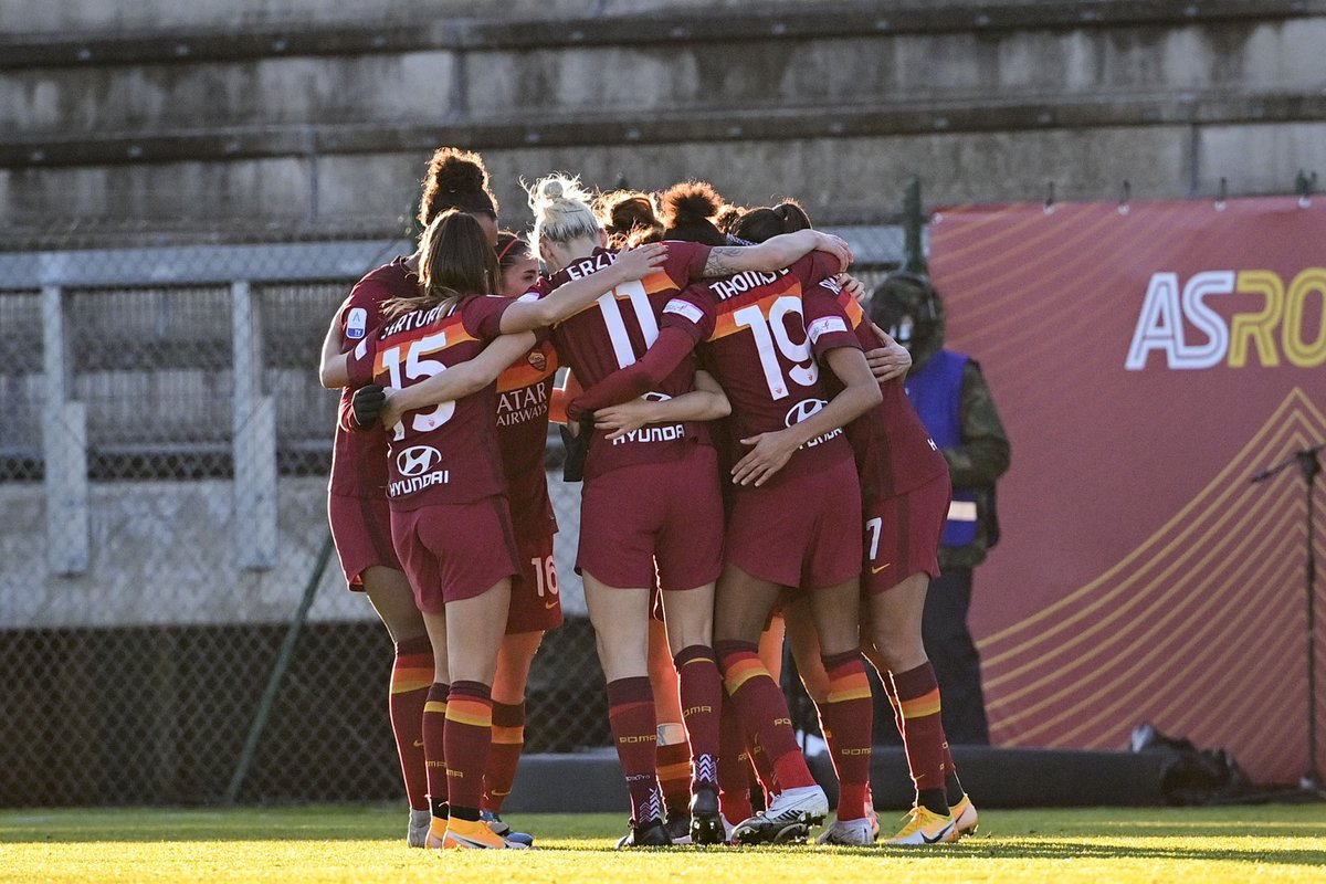 Replying to @ASRomaWomen: 🟨🟥📺🟨🟥  All the action from today's hard-fought win!   #ASRomaWomen #ASRoma