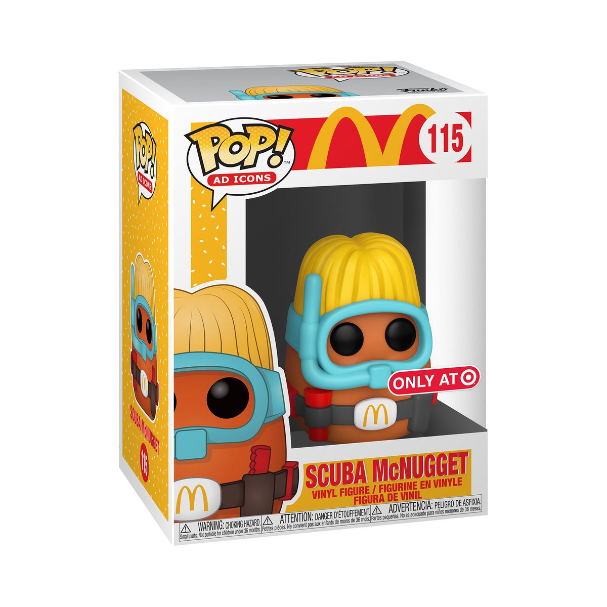 RT & follow @OriginalFunko for the chance to WIN @Target exclusive @McDonalds Scuba McNugget Pop! #Funkogiveaway #McDonalds #Funko #FunkoPop