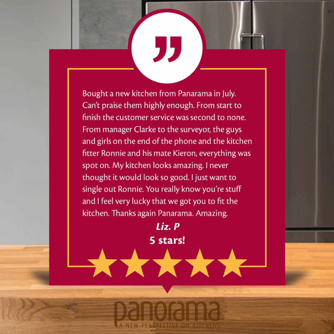 It was an absolute pleasure Liz, thank you for taking the time to leave us this kind review.🙏 #greatcustomer #loveourcustomers #thankyou #loveourjob #kitchendreams #kitchenfitters #kitchendesigners #kitcheninstallation #sundayvibes #5starreview #kindwords #bespokekitchen #thanks