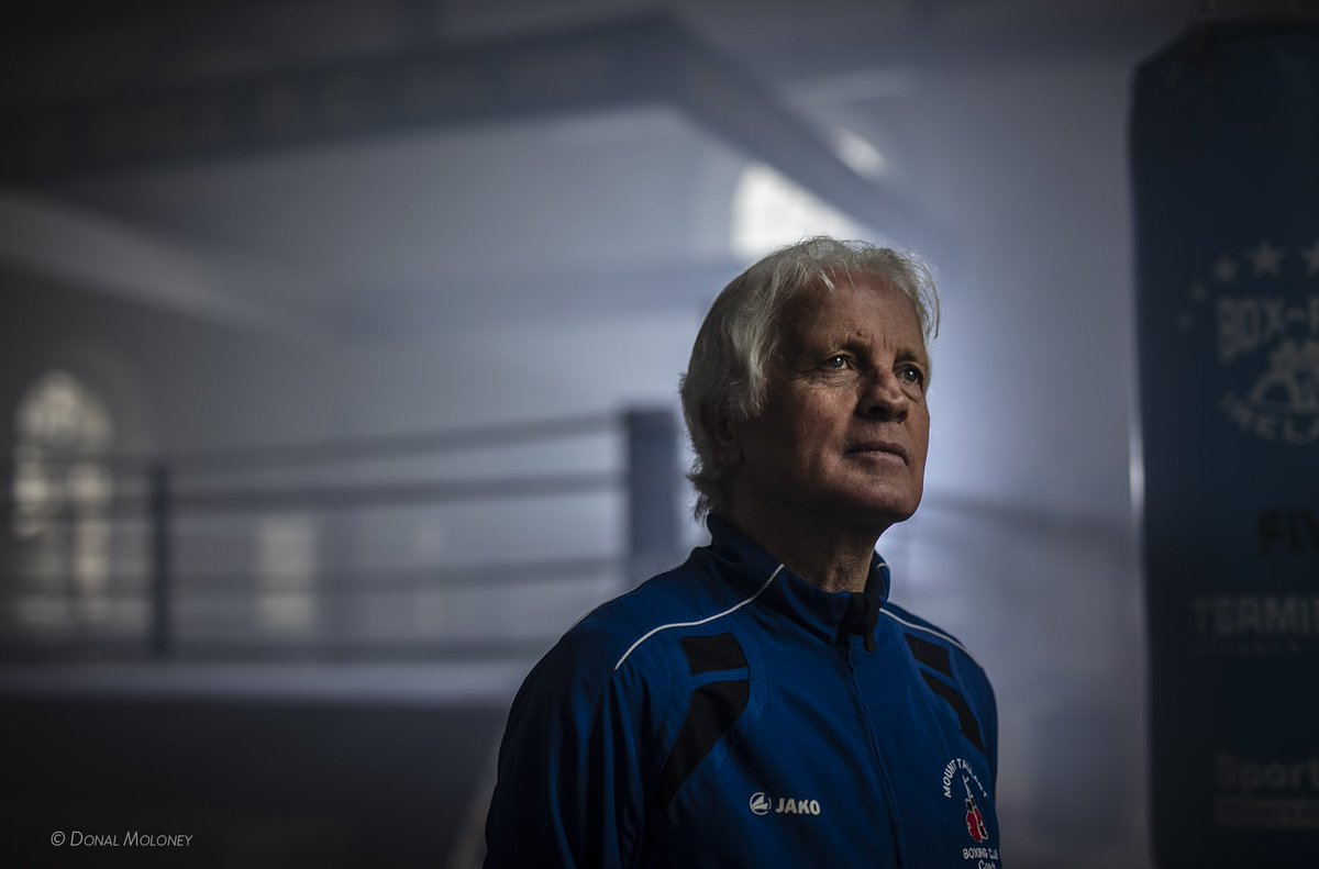 I had the great pleasure of working with Mick Dowling today #legend #boxer #gentleman #ireland