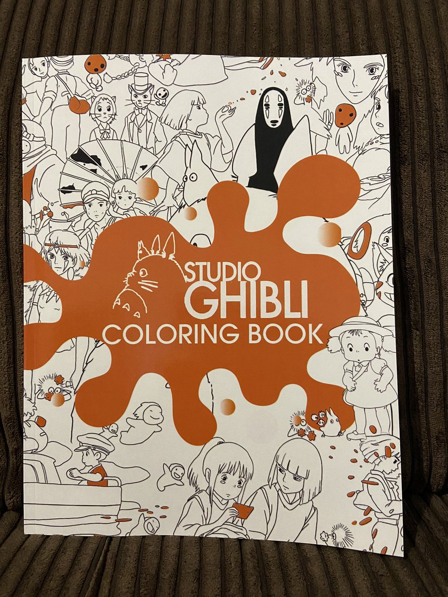 Look at these Studio Ghibli presents I got   @StudioGhibli @PhotoGhibli #anime #animation #animated #presents #books #colouringbook #colouring #sundayvibes