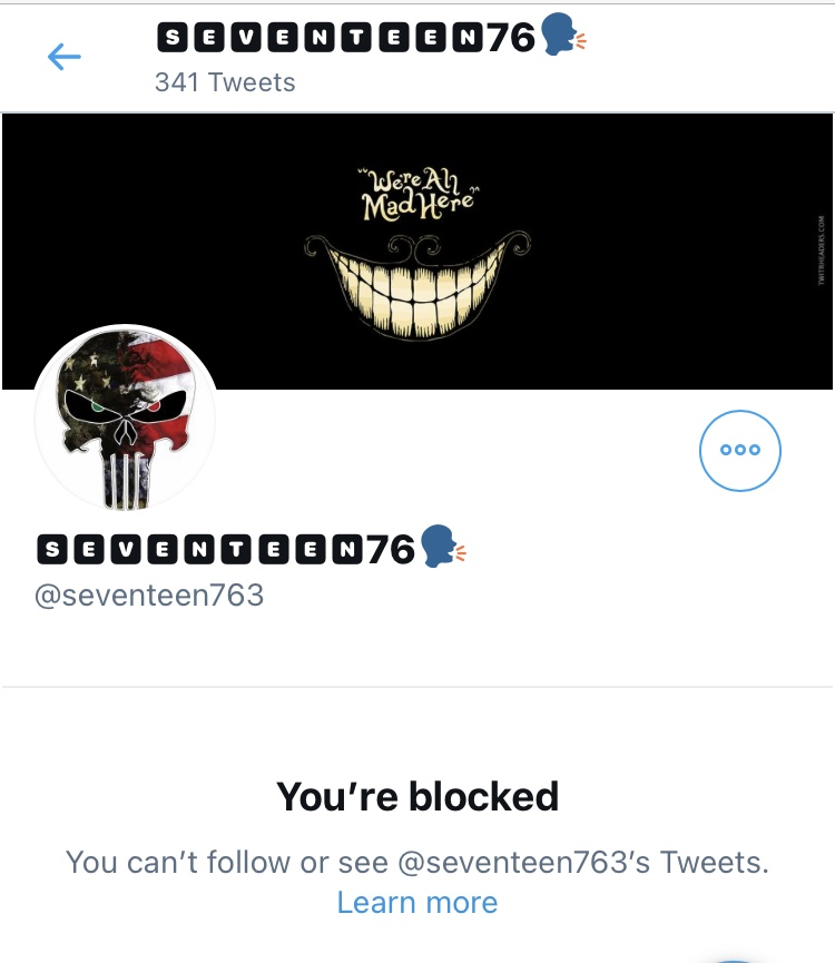 THIS is why Qanons were and are so easily deceived. You want echo chambers just like leftists. You can't handle discourse and run at the first sign you're not hearing something to confirm your beliefs. Truly pathetic, and very common among #QAnons #qanon #QanonArmy