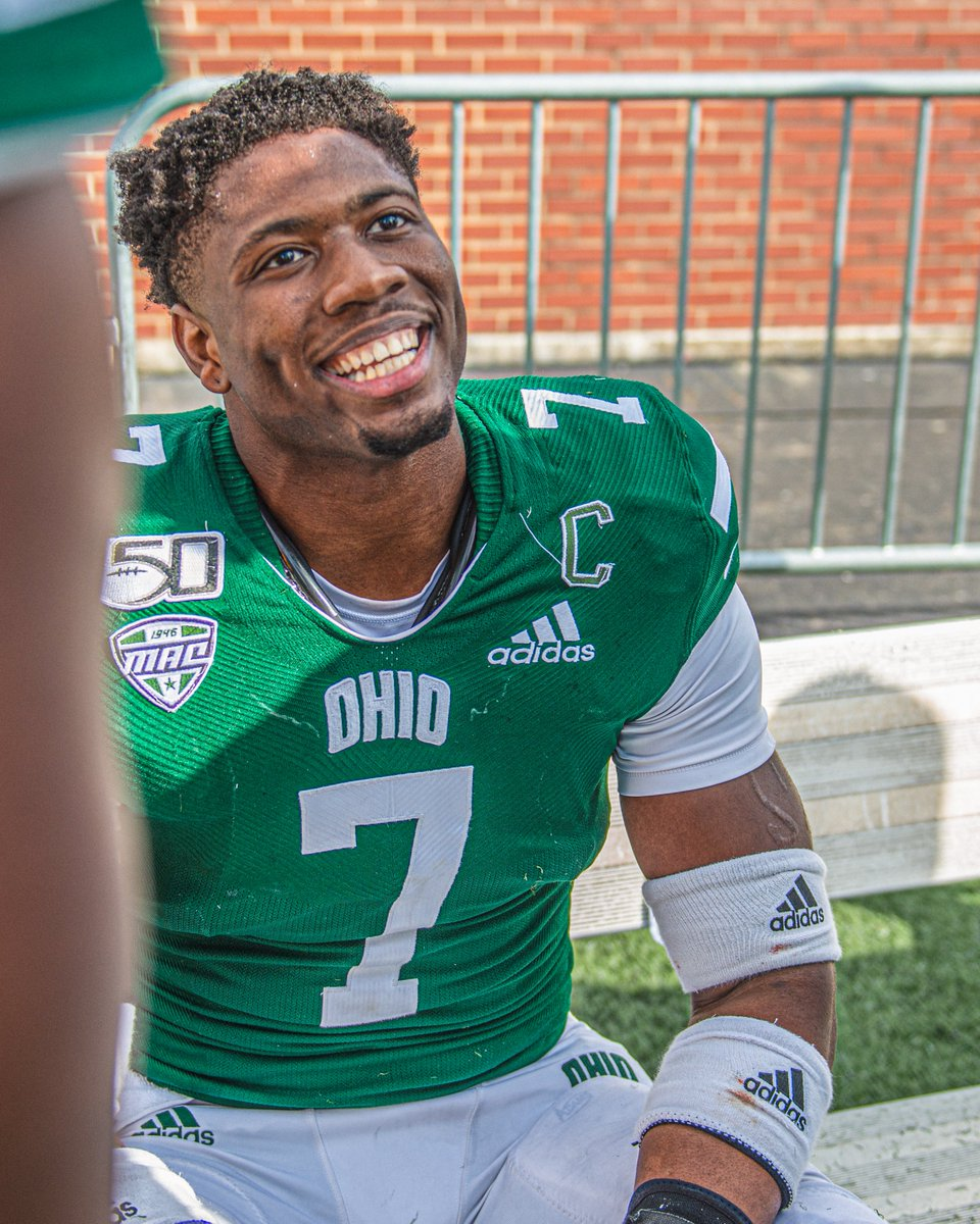 Congrats to OHIO alumnus and former @OhioFootball star, Javon Hagan, who was elevated to the @Buccaneers' active roster for tonight's NFC Divisional Game at New Orleans! 💪😼  Kickoff is at 6:40pm ET on FOX 🏈  #ForeverOHIO | #OUOhYeah https://t.co/GmYDML8FMS