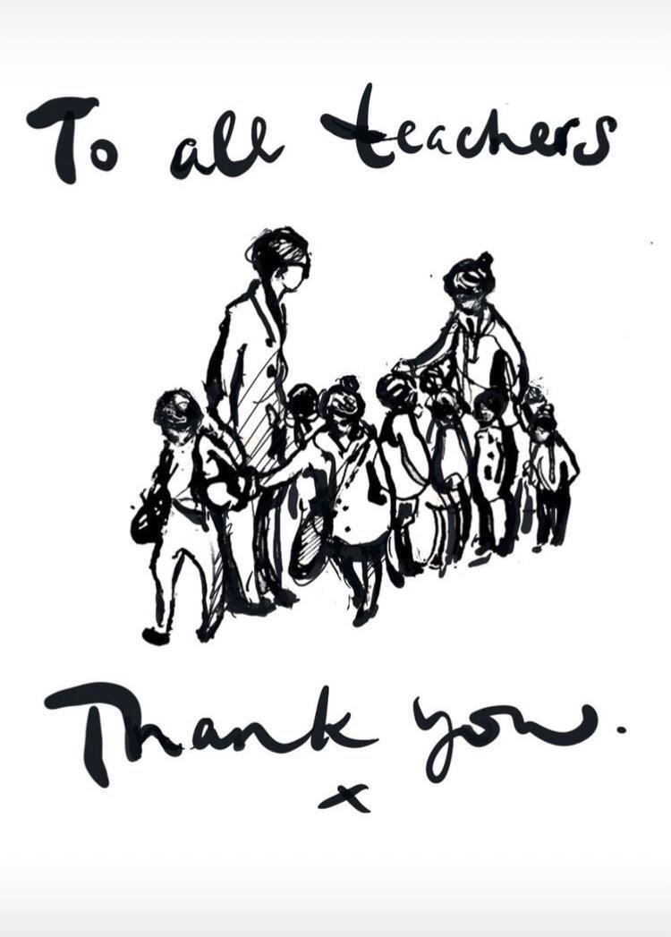 Such a beautiful illustration from @charliemackesy #ThankYou #BetterTogether
