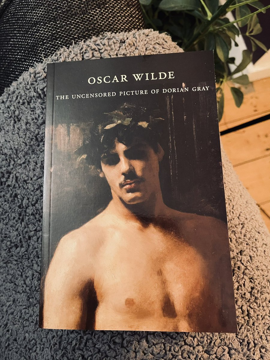 """This should be a good.⠀ ⠀ """"More than 120 years after Oscar Wilde submitted """"The Picture of Dorian Gray"""" for publication in """"Lippincott's Monthly Magazine,"""" the uncensored version of his novel appears here for the first time in a paperback edition."""" ⠀ #DorianGray #OscarWilde"""