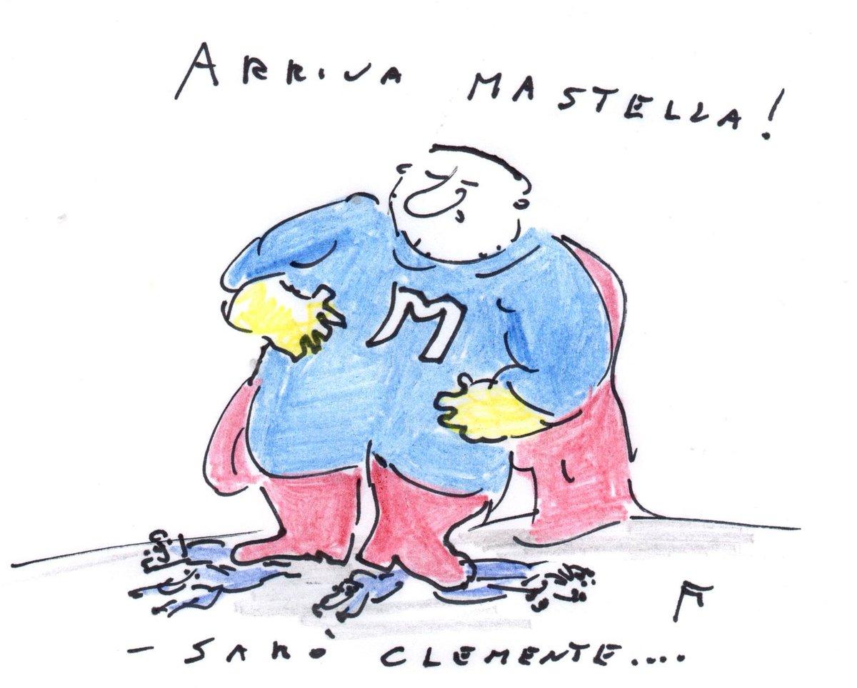 Per il lavoro di squadra poi s'è trovato un coach di provata esperienza  Così Fulvio Fontana  #crisidigoverno  #Mastella  #vignettistiperlacostituzione 🇮🇹